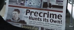 minority report pre-crime